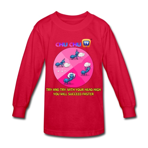 Motivational Quotes 12 - Kids' Long Sleeve T-Shirt