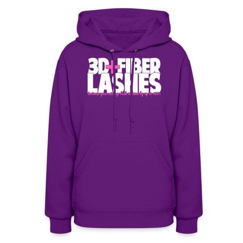 3d + Fiber Lashes - Women's Hoodie