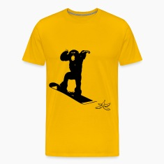 """Snowboard monkey"" by Claudia-Moda"