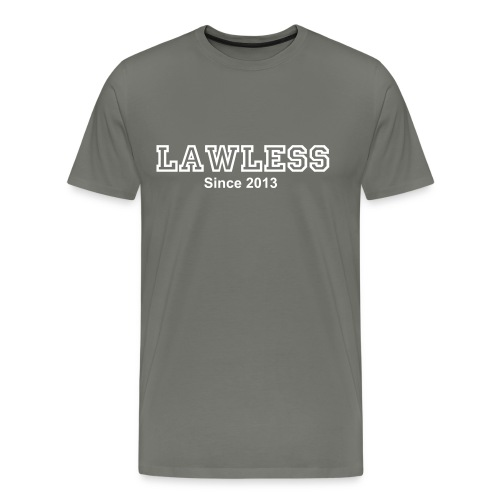 Lawless Campus Tee - Men's Premium T-Shirt