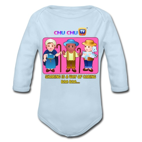 Motivational Quotes 3 - Organic Long Sleeve Baby Bodysuit