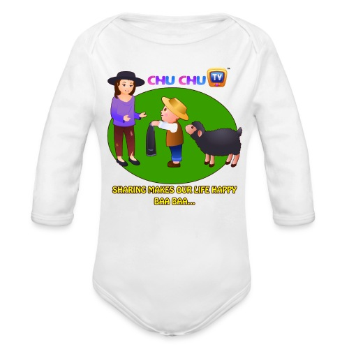 Motivational Quotes 1 - Organic Long Sleeve Baby Bodysuit