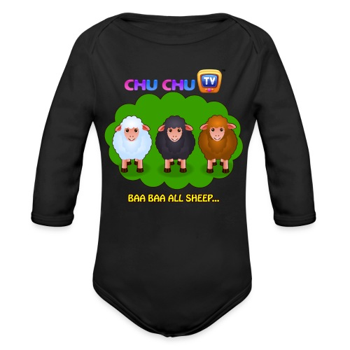Motivational Quotes 4 - Organic Long Sleeve Baby Bodysuit