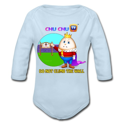 Motivational Quotes 7 - Organic Long Sleeve Baby Bodysuit