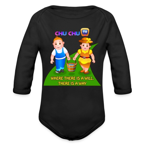 Motivational Quotes 8 - Organic Long Sleeve Baby Bodysuit