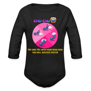 Motivational Quotes 12 - Long Sleeve Baby Bodysuit