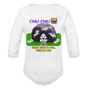 Motivational Quotes 9 - Long Sleeve Baby Bodysuit
