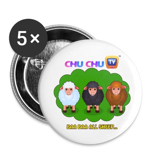 All Sheep - Small - Small Buttons