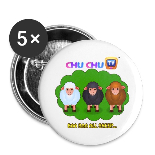 All Sheep - Large - Large Buttons