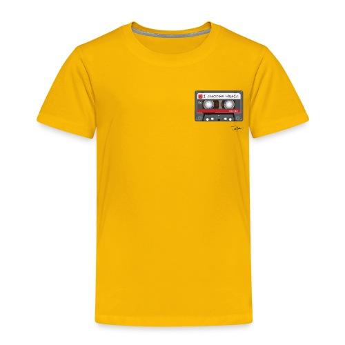 Toddler I Choose Music Tee - Toddler Premium T-Shirt