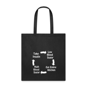 Cycle of Type 1 Diabetes - Tote Bag
