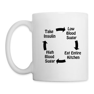 Cycle of Type 1 Diabetes - Coffee/Tea Mug