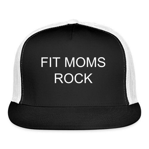 FIT MOMS ROCK TRUCKER HAT - Trucker Cap