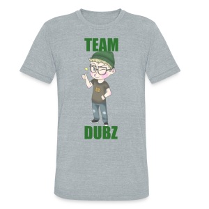 Team Dubz Tee - Unisex Tri-Blend T-Shirt by American Apparel