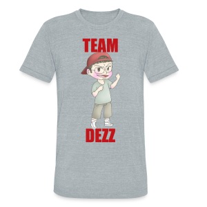 Team Dezz Tee - Unisex Tri-Blend T-Shirt by American Apparel