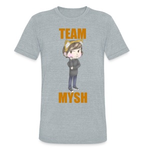 Team Mysh Tee - Unisex Tri-Blend T-Shirt by American Apparel