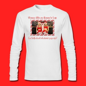 Boner Santa - Men's Long Sleeve T-Shirt by Next Level