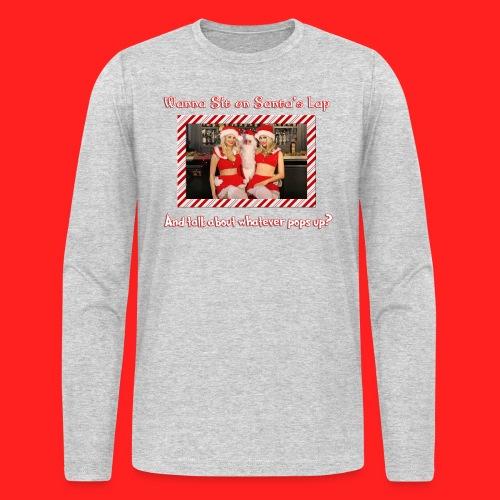 Boner Santa - Men's Long Sleeve T-Shirt by Next Level