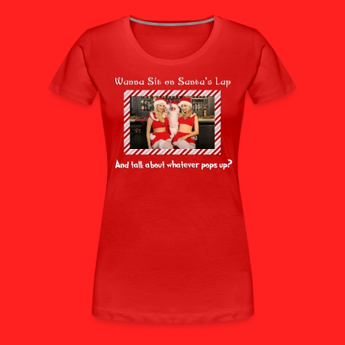 Boner Santa Women's T - Women's Premium T-Shirt