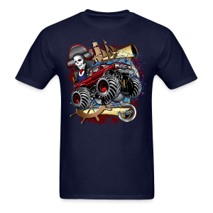 Pirate Monster Truck - Men's T-Shirt