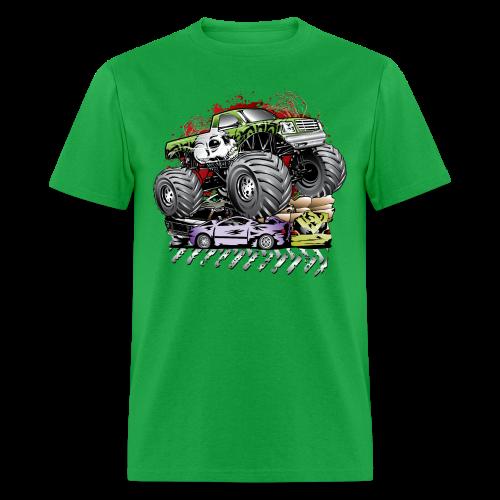 Mega Death Monster Truck - Men's T-Shirt