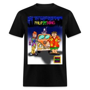 2 SIDED PHILIP THE BONG T-SHIRT - Men's T-Shirt