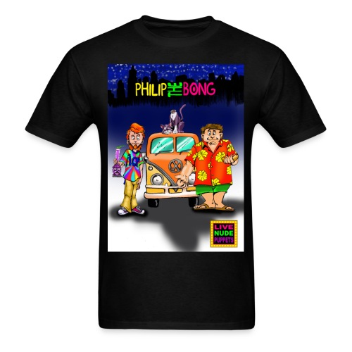 2 SIDED PHILIP THE BONG T-SHIRT - Men's T-Shirt