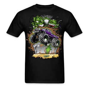 Ghoulish Monster Truck - Men's T-Shirt