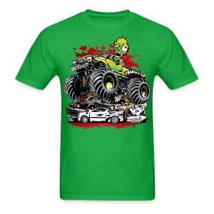 Monster Truck Ghoul - Men's T-Shirt