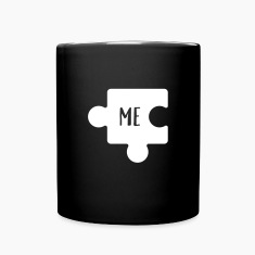 You - Me Puzzle (Part 2/2) Mugs & Drinkware