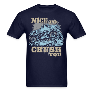 Monster Truck Nice Crush - Men's T-Shirt