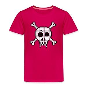 Pixel Skull - Toddler Premium T-Shirt