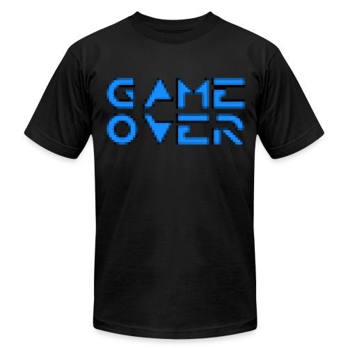 Game Over Black - Men's Fine Jersey T-Shirt