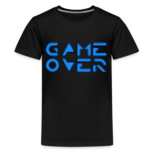 Game Over Black - Kids' Premium T-Shirt