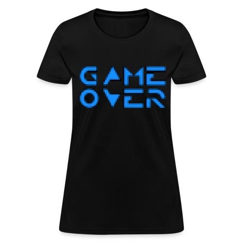 Game Over Black - Women's T-Shirt