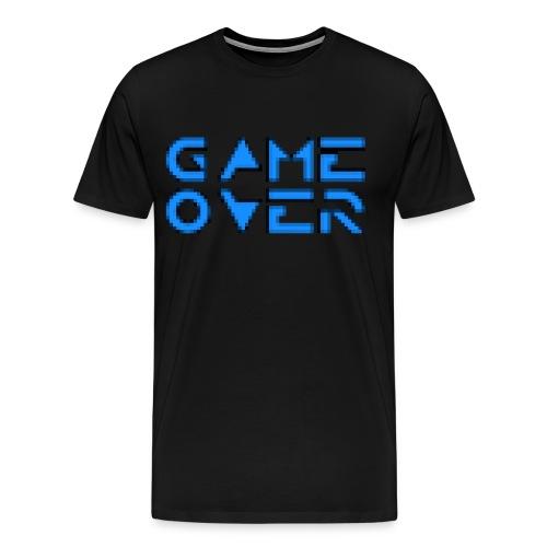 Game Over Black - Men's Premium T-Shirt