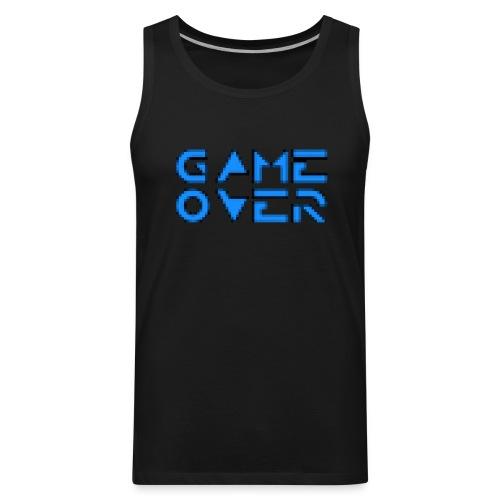 Game Over Black - Men's Premium Tank