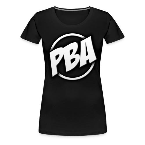 PBA Logo Tshirt Womens - Women's Premium T-Shirt
