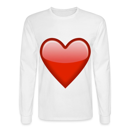 Big Heart - Men's Long Sleeve T-Shirt