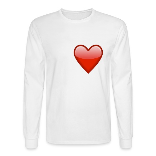 Small Heart - Men's Long Sleeve T-Shirt