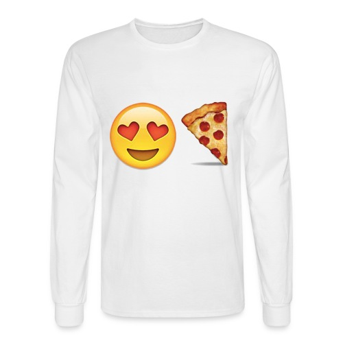 Love Pizza - Men's Long Sleeve T-Shirt