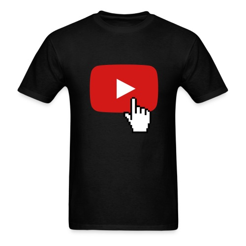 Youtube Click - Men's T-Shirt