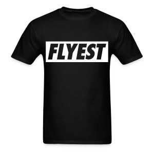UA14 FLYEST Black - Men's T-Shirt