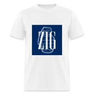 Zig (Gap Styled) - Men's T-Shirt