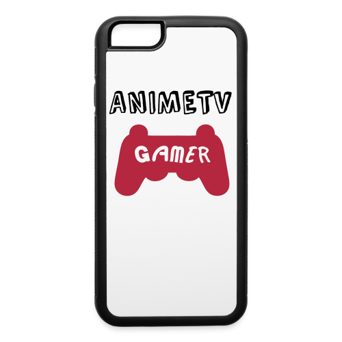 IPhone 6/6S Official AnimeTV Gamer Phone Case - Red - iPhone 6/6s Rubber Case