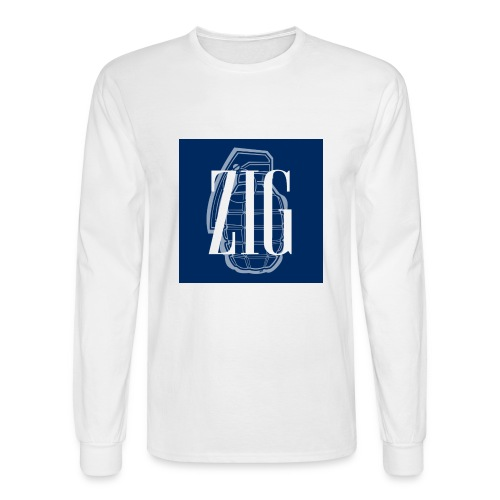 Zig (Gap Styled) - Men's Long Sleeve T-Shirt