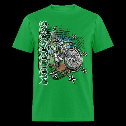 Motocross Kawasaki - Men's T-Shirt