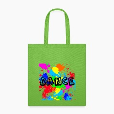 Canvas Tote Bag   Dance