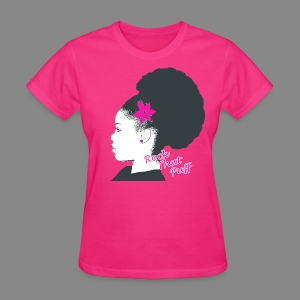 Rock That Puff - Women's T-Shirt