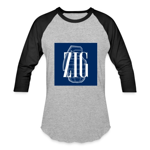 Zig (Gap Styled) - Baseball T-Shirt